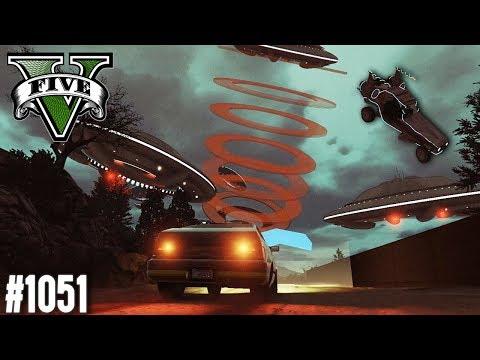 SPACE RACE MIT UFOS (+Download)| GTA 5 - Custom Map Rennen