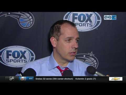 Frank Vogel—Orlando Magic at Denver Nuggets 1/16/17