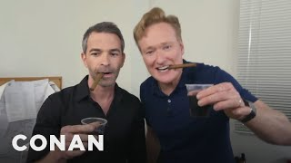 Jordan's getting married soon, so Conan decides to throw him a surprise stag party. Bring on the Jäger and strippers! More CONAN @ http://teamcoco.com/video ...