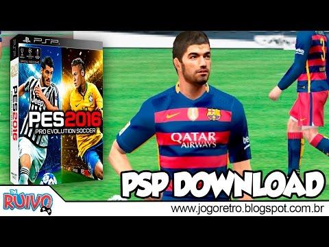 Pro Evolution Soccer 2016 (PES 2016 Black Edition) no PSP / Playstation Portable