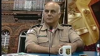 Mesa de Debates   06 DE DEZEMBRO DE 2016   OPERAÇÃO NATALINA DA POLÍCIA MILITAR