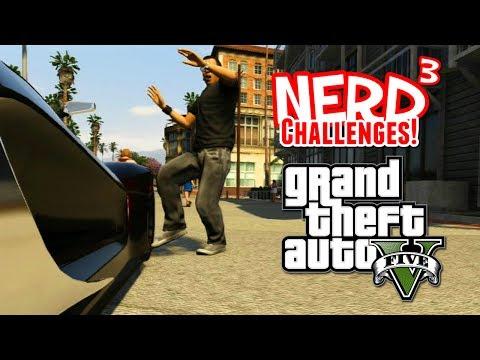 Nerd³ Challenges! Commute! - GTA V