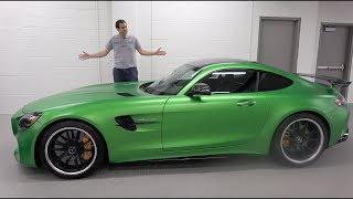 видео Спортивное купе Mercedes-AMG GT. Первые подробности от производителя