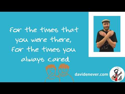 Father's Day Song- Thank You Dad (with Actions) - David Enever