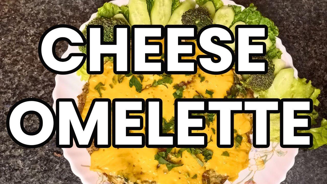 Cheese Omelette Recipe in Urdu / Hindi - YouTube