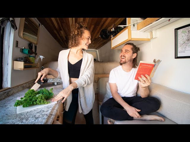 VAN LIFE | normal day in the life + building our routine