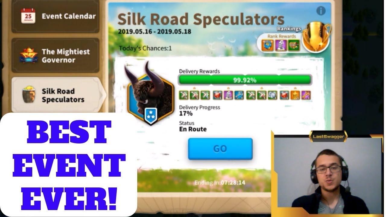 Silk Road Speculators - Best Event EVER in Rise of Kingdoms!