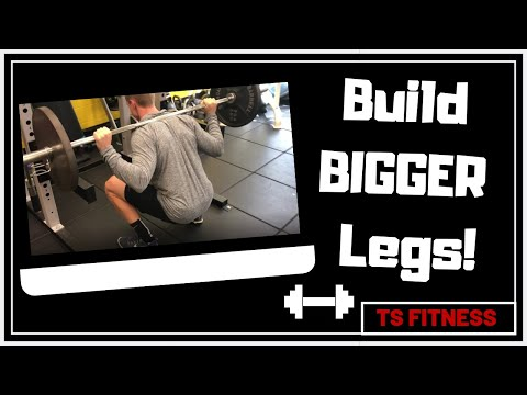 4 GREAT Leg Exercises for Strength and Muscle Growth (FOCUS ON THESE!)