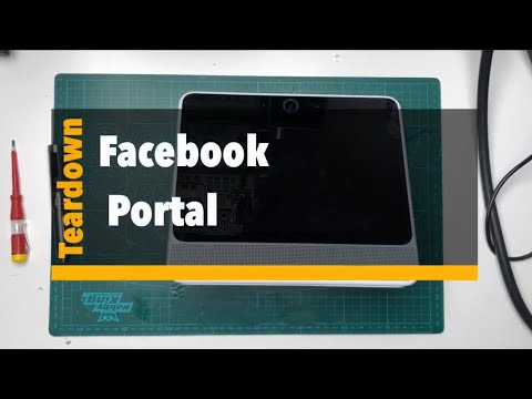 Facebook Portal Teardown