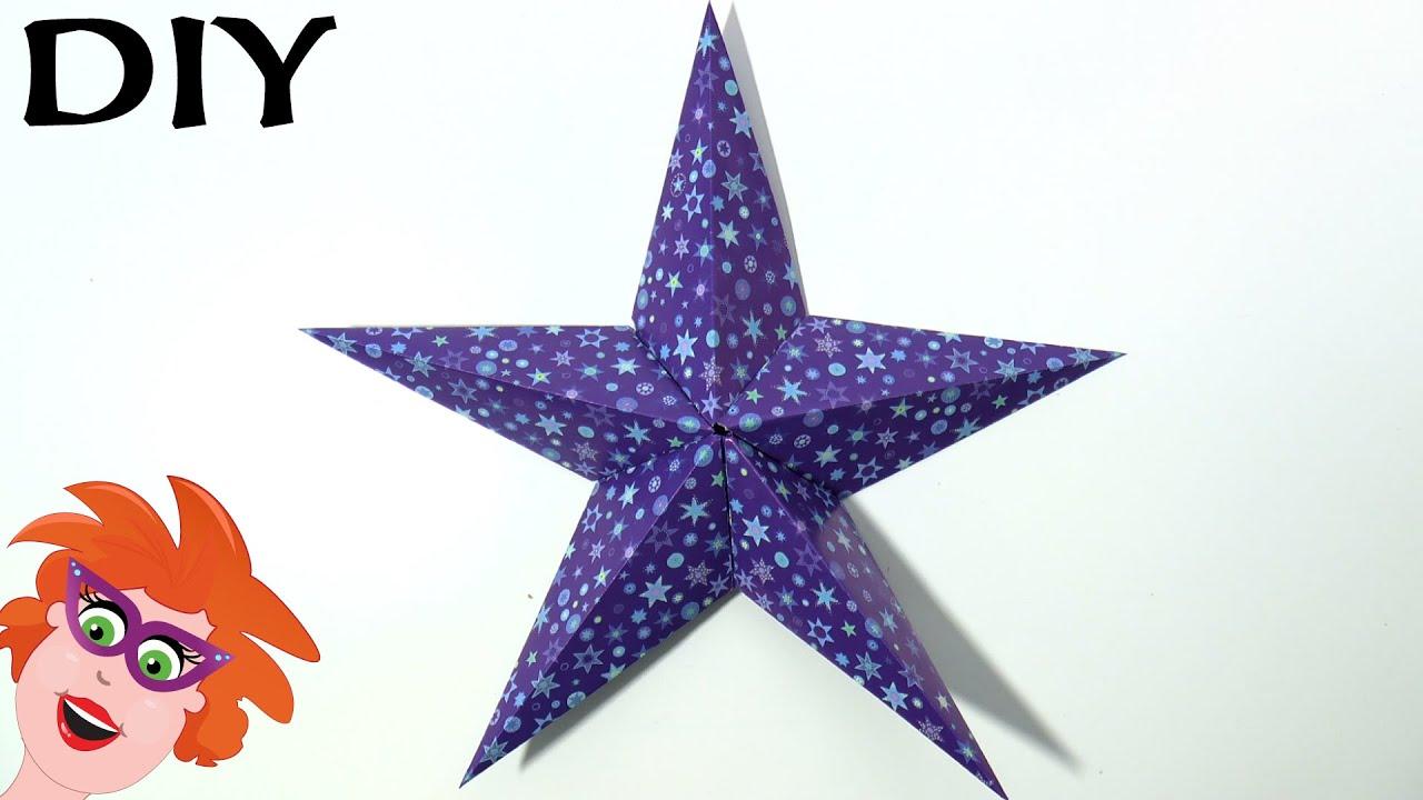 Vaak Origami ster vouwen voor kerst - YouTube @IR98
