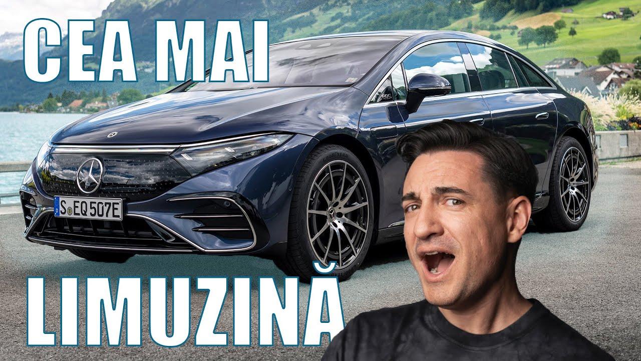 Am condus Mercedes EQS - Cea Mai Limuzină! - Cavaleria.ro