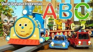 Gambar cover Belajar Huruf Huruf bersama MAX si Kereta yang Bercahaya | TOYS ( Huruf dan Mainan)