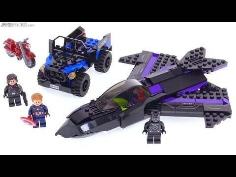 LEGO Marvel Black Panther Pursuit review! 76047