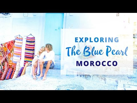 EVERYTHING IS BLUE!? – Chefchaouen – Morocco Travel vlog