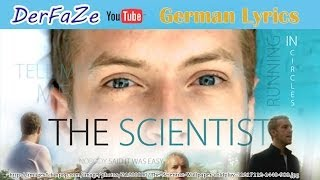 Coldplay - The Scientist [German Lyrics // Deutscher Text] [HD]