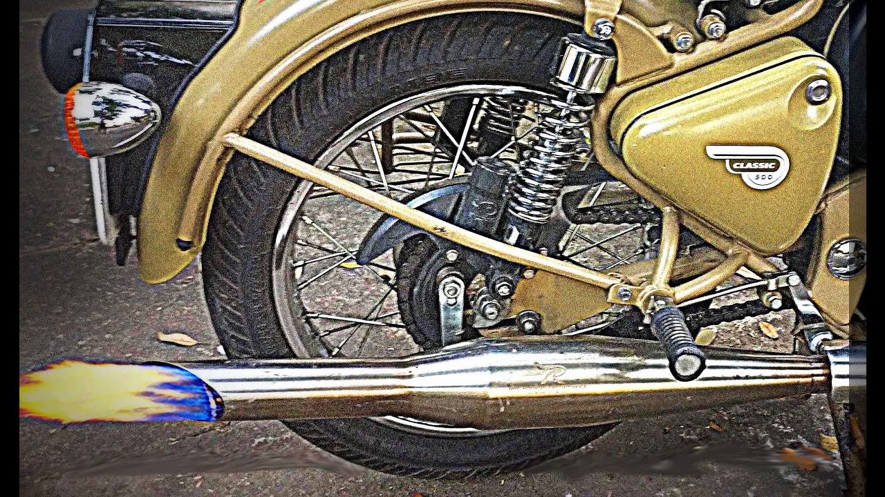 Things You Should Know About Red Rooster Silencer Royal Enfield