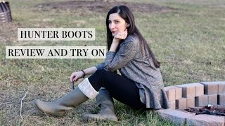 Hunter Boots Worth the Hype? Part Two - Review
