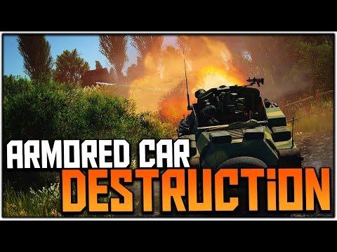 ARMORED CAR DESTRUCTION (War Thunder SB Gameplay)