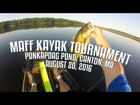 MAFF Kayak Tournament - Ponkapoag Pond, Canton, MA
