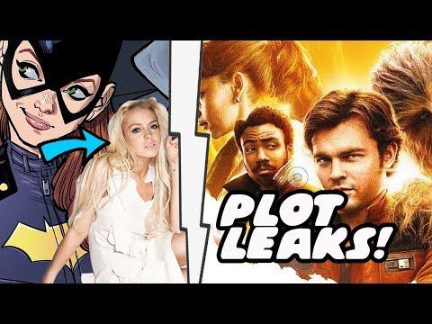Han Solo Movie Plot Details Leak Plus Lindsay Lohan As Batgirl In DCEU!