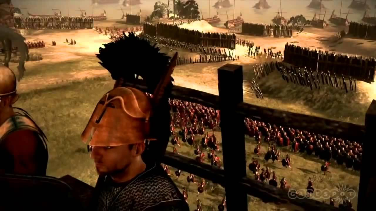 Total War Rome II - Gameplay Demo - YouTube