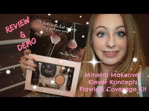Mineral Makeover Flawless Coverage Kit Review & Demo