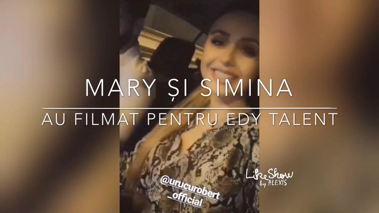 """MARY și SIMINA au filmat pentru Edy Talent   """"O să avem un nepoțel"""", MARY?"""