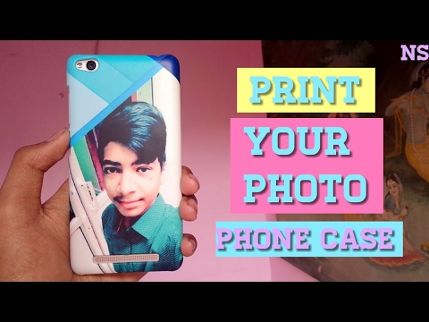 PRINT YOUR PHOTO ON MOBILE COVER ! HINDI .
