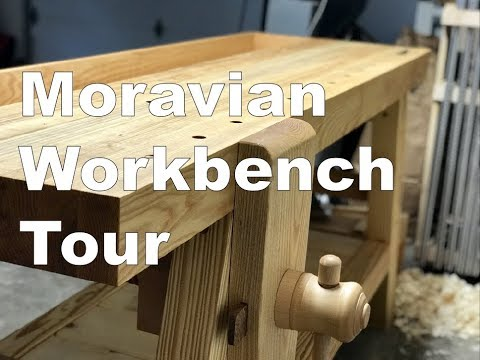 Portable Moravian Workbench Tour Youtube