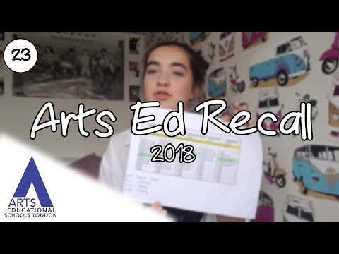 Auditioning for Drama School: My Arts Ed Recall 2018