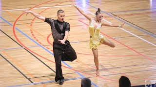 William Gauthier - Marie Denigot Hamon | FFD French Cup 2018 Mulhouse - Adult Latin - SF S
