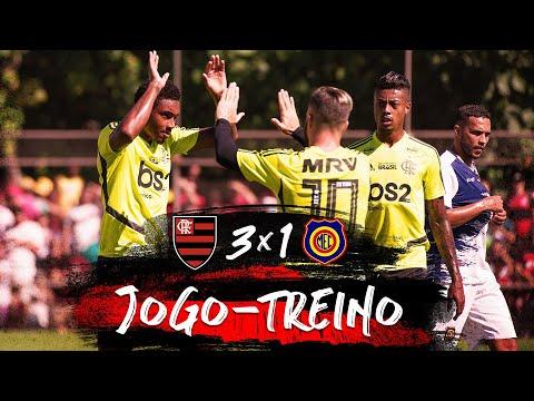 Jogo-Treino Flamengo x Madureira - 29/06/2019