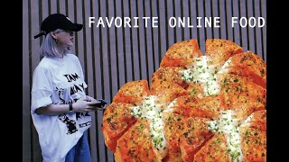 MY FAVORITE ONLINE FOOD