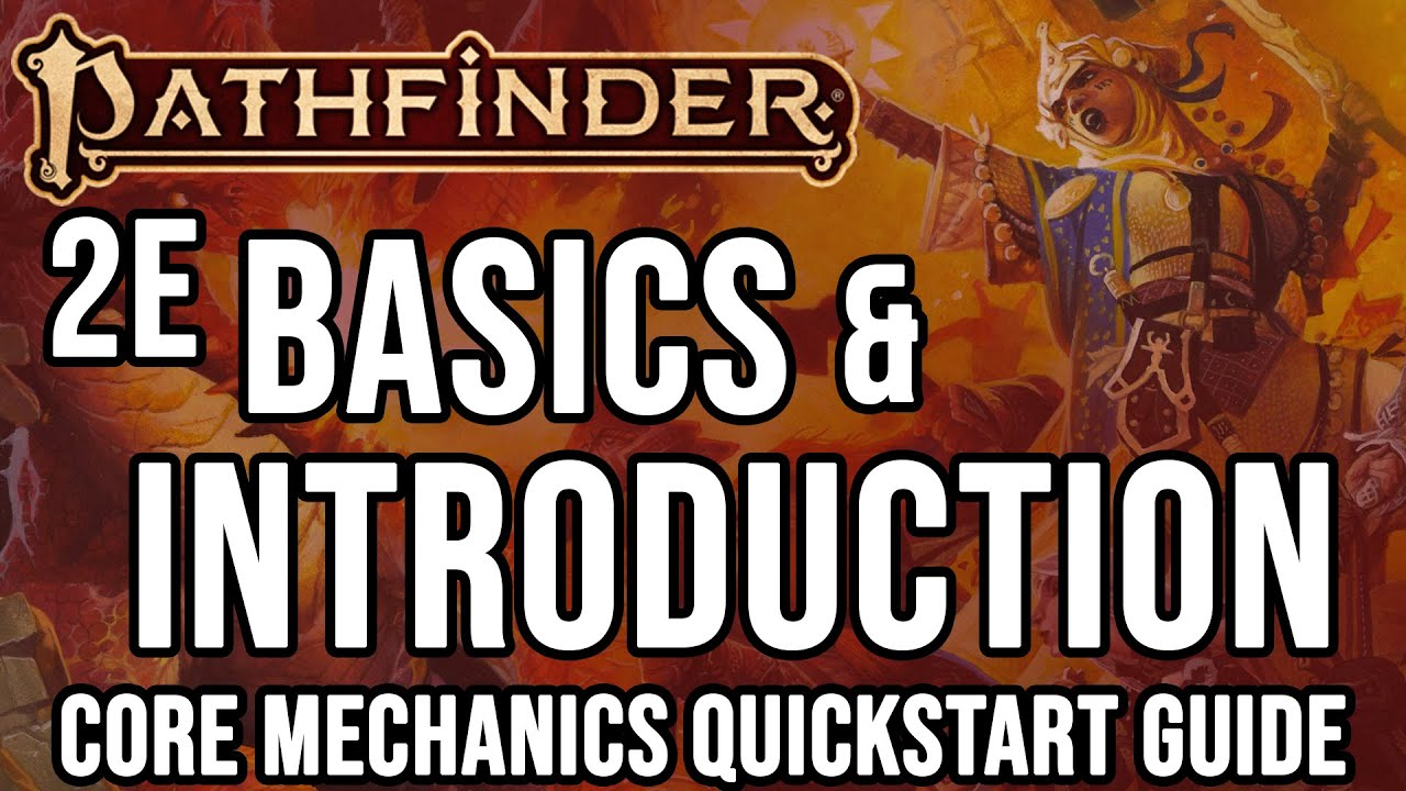 Pathfinder 2e Basics: Fast Start & Introduction | How to Play Pathfinder 2e  | Taking20