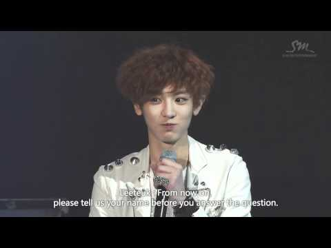 [ENG] Chanyeol wants to visit and perform in France - EXO SHOWCASE in Seoul - HD