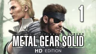 Metal Gear Solid 3 Snake Eater Collection Walkthrough - Part 1 Virtuous Mission Let's Play