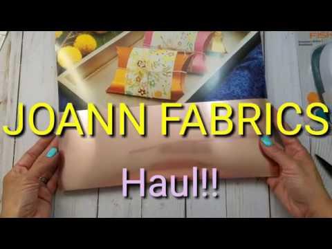 JOANN FABRICS  Haul!!!