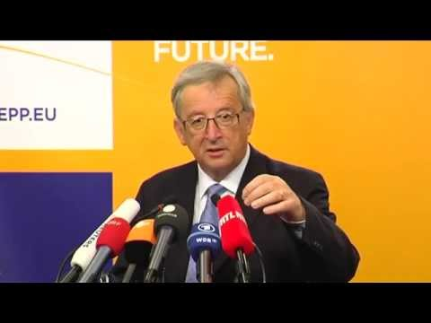 Press conference by Jean-Claude Juncker following the European elections; 26 May 2014