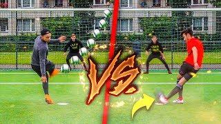 WM 2018 TRICKSHOT FUßBALL CHALLENGE!!!