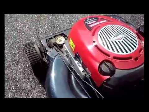How To Replace Drive Control Belt For Craftsman Mower