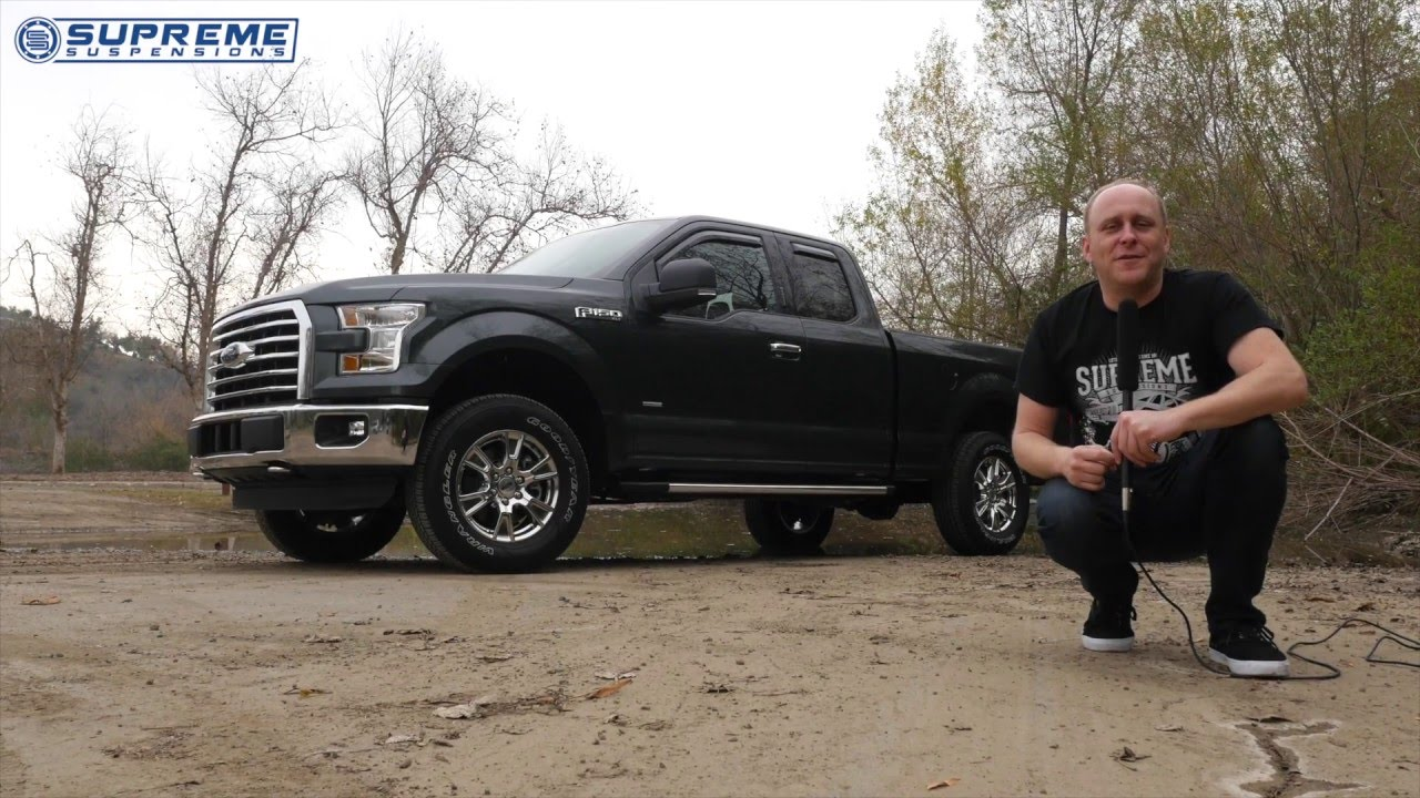 leveling kit installation guide 2015 ford f150 youtube