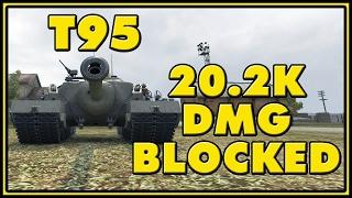 World of Tanks | T95 - 20.2K Damage Blocked