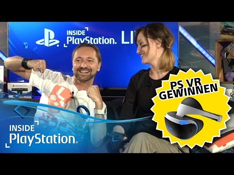 PlayStation VR Gewinnspiel, Tomb Raider, Outlast 2 | Inside PlayStation LIVE vom 14.10.2016