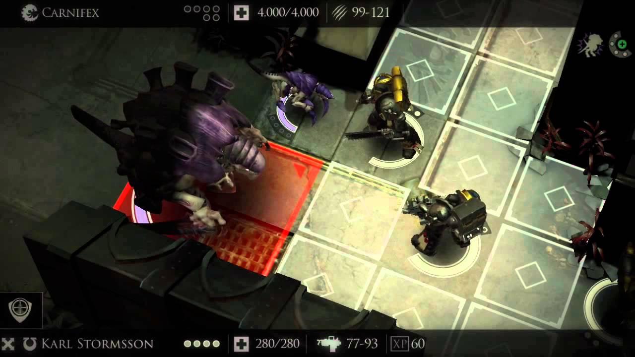 Warhammer 40000 Deathwatch Tyranid Invasion Gameplay