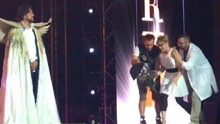 На концерте Киркорова в Сочи «Дискотека Авария» отловила покемонов