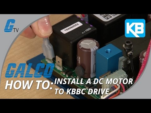 KB ELECTRONICS KBBC-24 DC MOTOR SPEED CONTROL