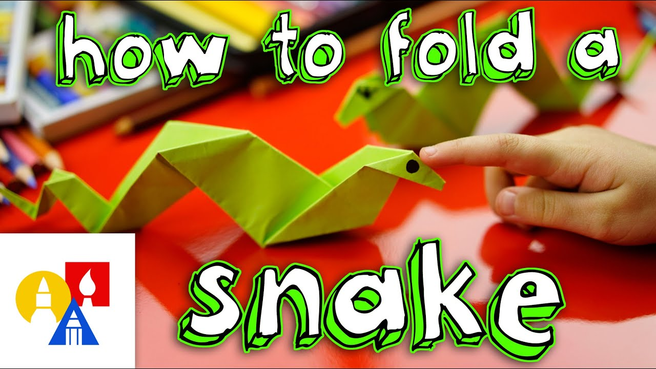 How To Fold An Origami Snake - YouTube - photo#16
