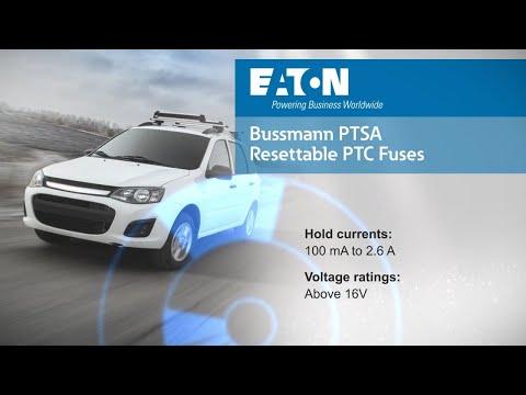 PTSA Resettable Automotive PPTC Fuses