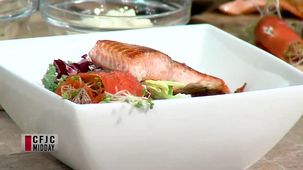 Bc Sockeye Salmon With Maple Dijon Recipe Fisherman S Market Youtube
