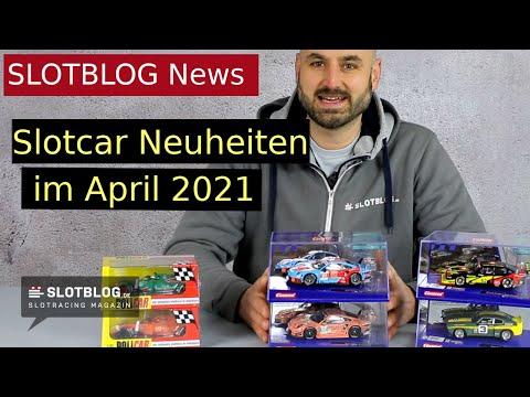 Slotcar Neuheiten April 2021